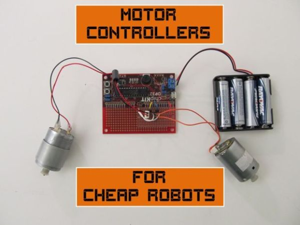 Motor Controllers for Cheap Robots | Pictures of, How to ...