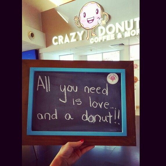 All you need is love... and a donut! | My creative photos ...