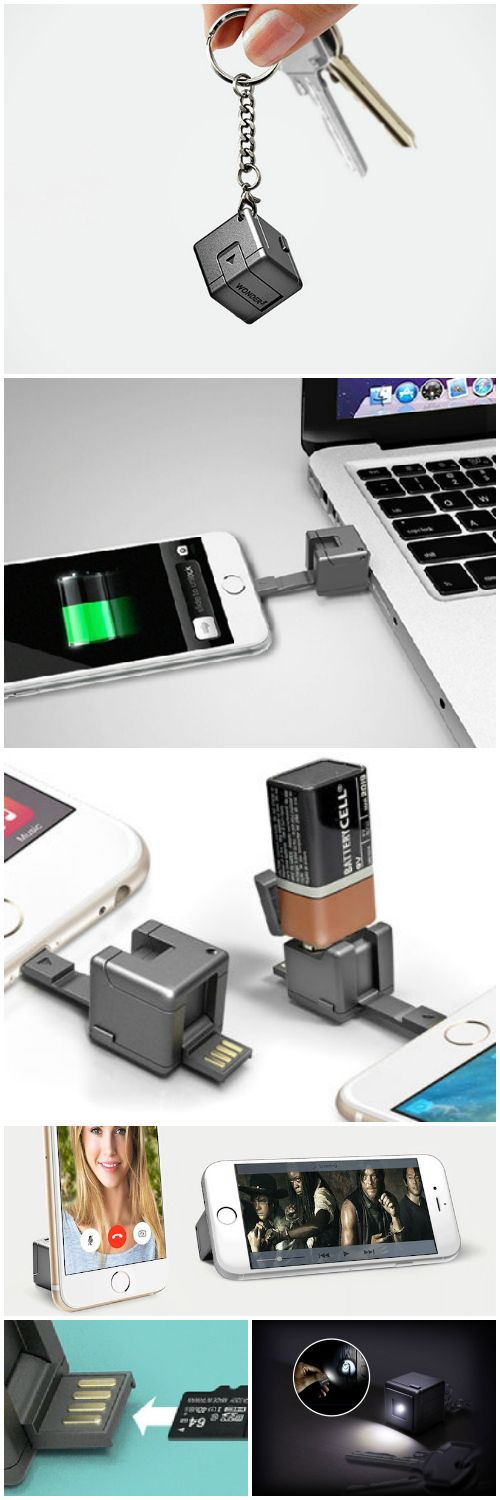 WonderCube – The 1 cubic inch wonder device that packs all your smartphone accesories into one compact gadget that fits on your