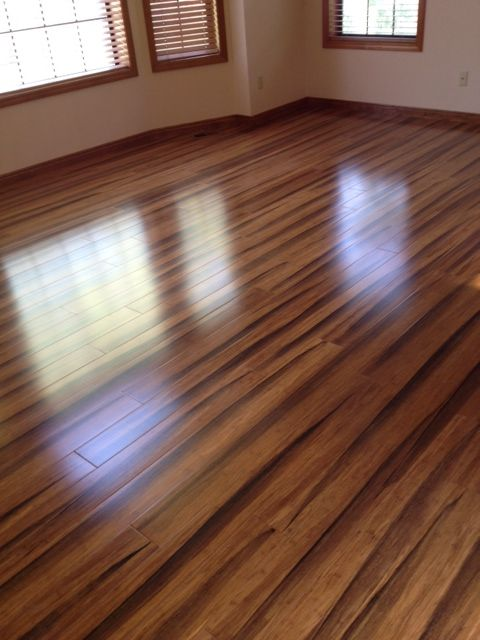 My New Brazilian Tiger Wood Bamboo Floors Home Remodel Pinterest House New Homes And Tigers