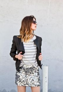 stripes + sequins: