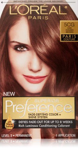LOreal Preference Paris Couture Hair Color 5CG Iced