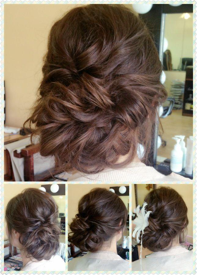 Bridesmaid Side Hair Styles