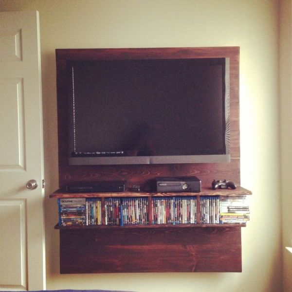 Wall mount for the tv to hide the wires | Decor ideas ...