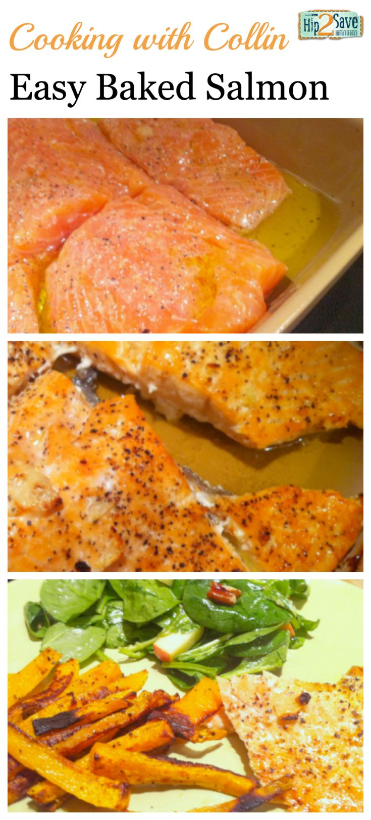 Even if you don't love salmon, give this easy baked salmon recipe a try – it's so yummy!! (Especially if you love salmon like me.)