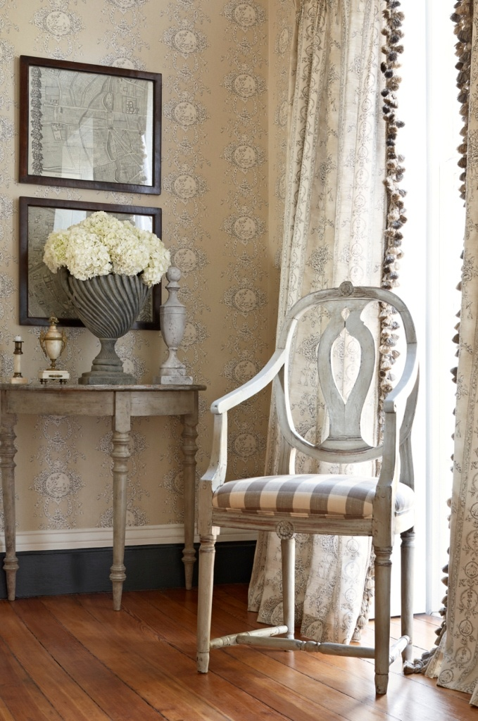 Charles Faudree For Stroheim Collection Wallcovering
