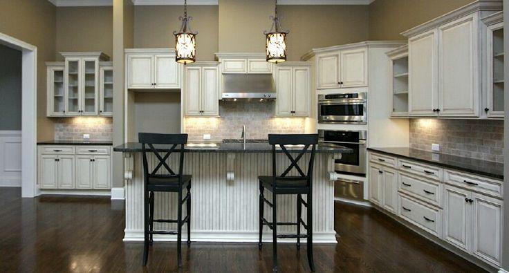 Color Scheme For The New Kitchen Antique White Kitchen