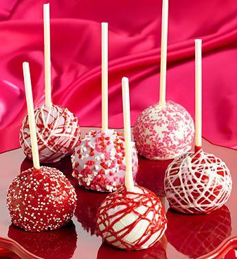 10 Valentine's Day Food and Treats – Valentine's Day Decadent Truffle Cake Pops #valentines