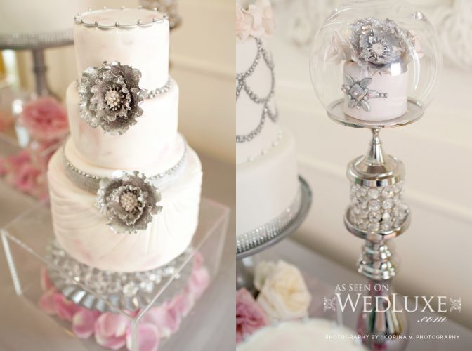 1000 Images About Wedding Cake Bling On Pinterest