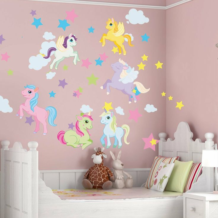 unicorn and pegasus wall decals unicorn bedroom pinterest on wall decals id=74861