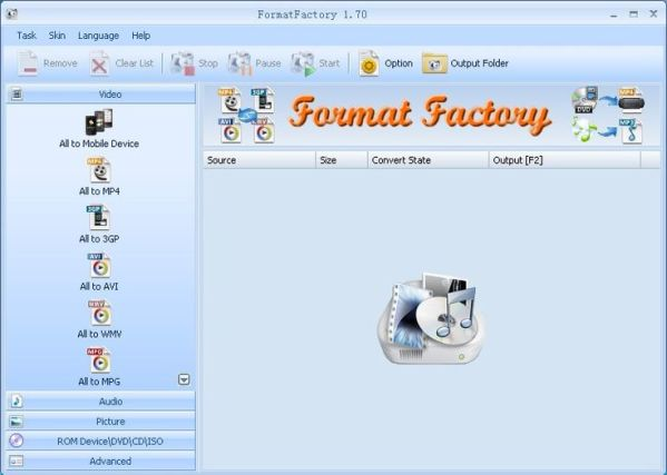 Format factory latest version Screenshots