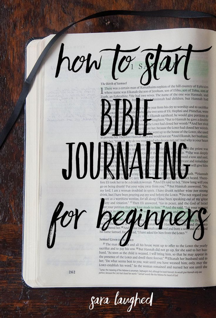 How to start Bible journaling for beginners! This is a great step-by-step process for those of you who are interested in Bible