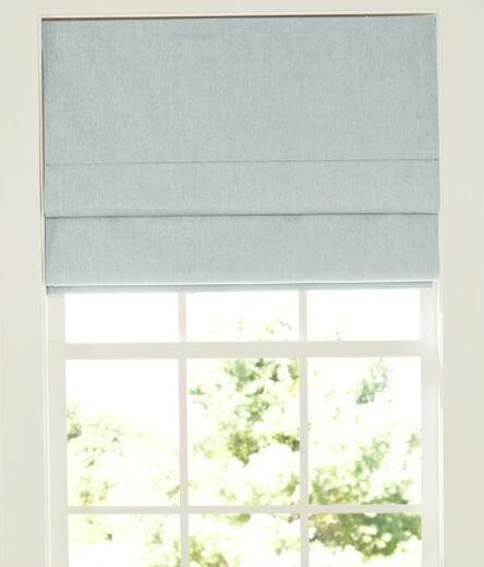 Linen Lined Roman Shade Country Curtains Decor Ideas