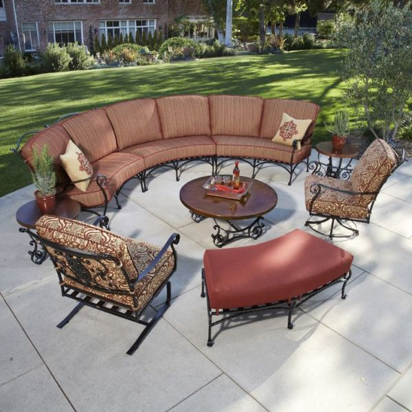 curved outdoor sectional patio furniture 17 best images about Outdoor Sectionals on Pinterest