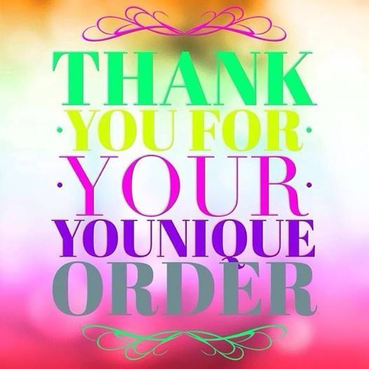 Younique Thank You Notes