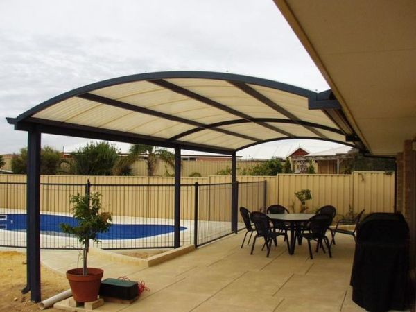 cover idea patio roof designs Gallery of Patio Cover Design behind the Backdoor   wood