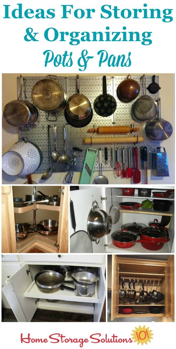organizing pots and pans ideas solutions kitchenware a well and home on kitchen organization pots and pans id=65169
