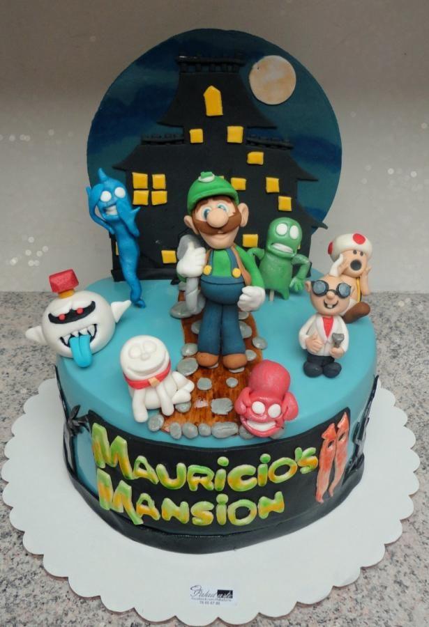 Luigis Mansion Cake Cake By Paladarte El Salvador