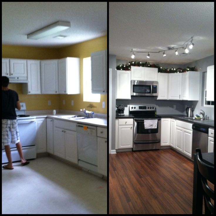 17 best images about small kitchen remodel before and after on pinterest renovated kitchen on i kitchen remodel id=29381