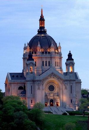 St. Paul's Cathedral - St. Paul, MN My old church in grad ...
