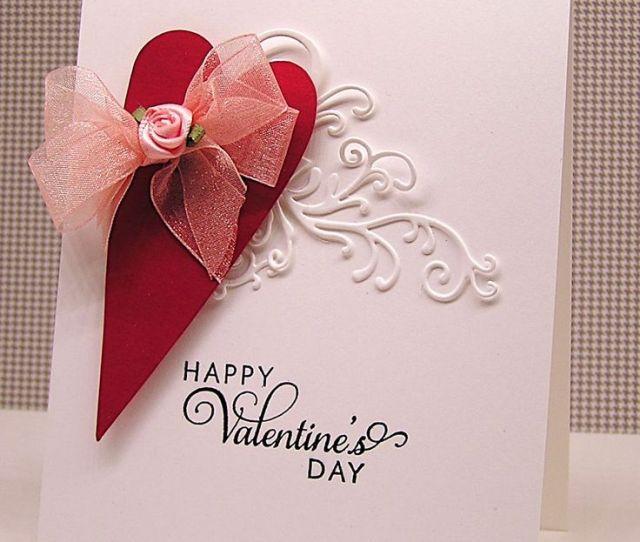 Stunning Happy Valentines Day Card