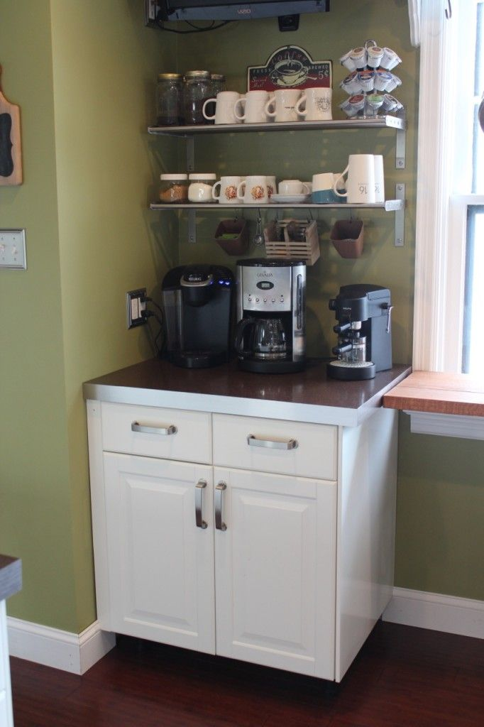 25 best images about i really want a coffee bar on on brilliant kitchen cabinet organization and tips ideas more space discover things quicker id=16399