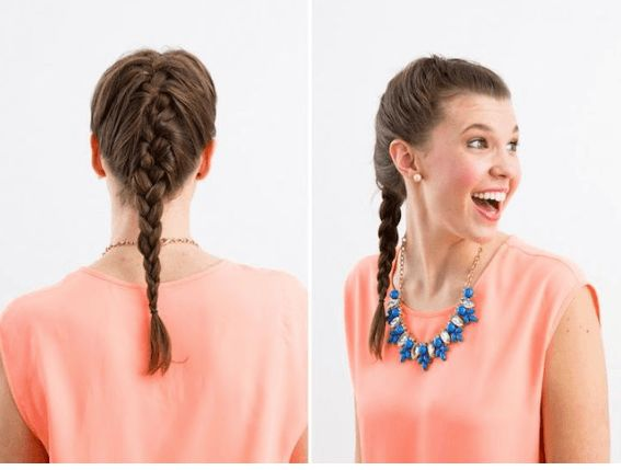 French Braid 80s Hairstyles That Are Actually Trendy