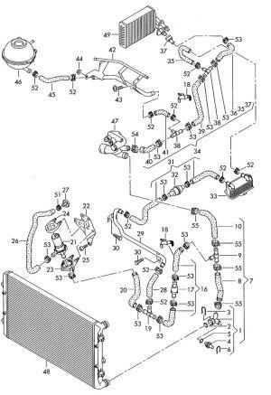 Audi A3 Cooling System Diagram   Audi   Pinterest