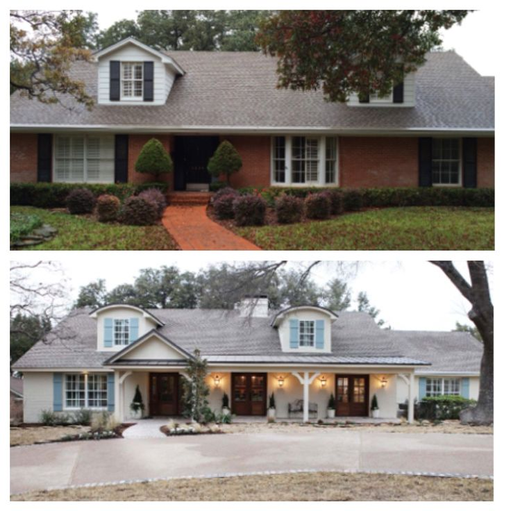 Before Amp After Fixer Upper My Hgtv Pinterest The O