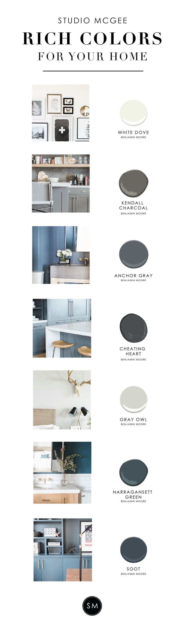 860 best images about wall colors on pinterest revere on best color for studio walls id=27009