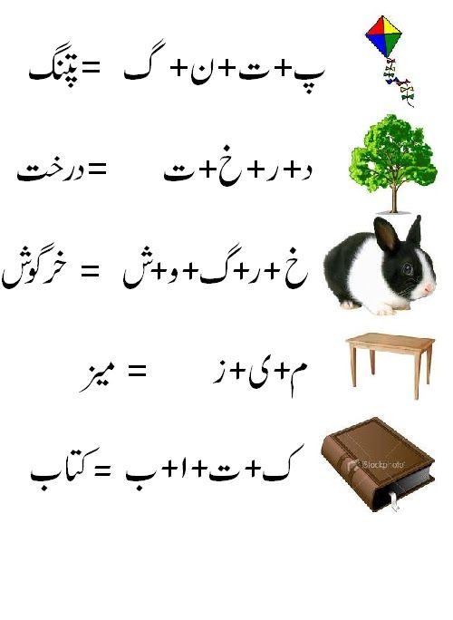 Urdu Worksheet