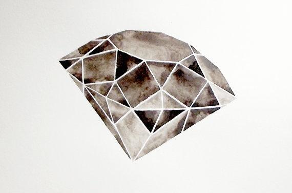 Best 25 Black Diamond Tattoos Ideas Only On Pinterest
