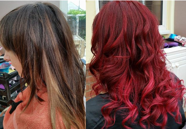 Before And After Using LOral Professionnel