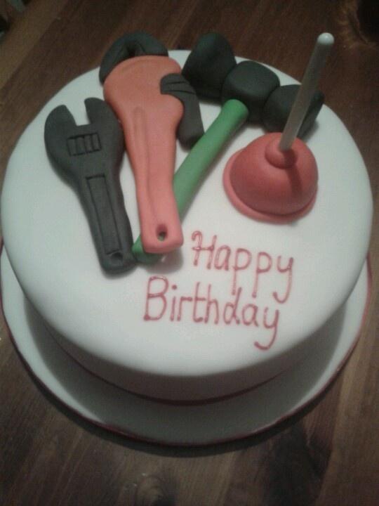 Tool Cake Decorations