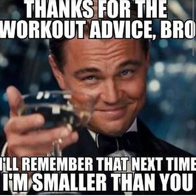 gym stereotype