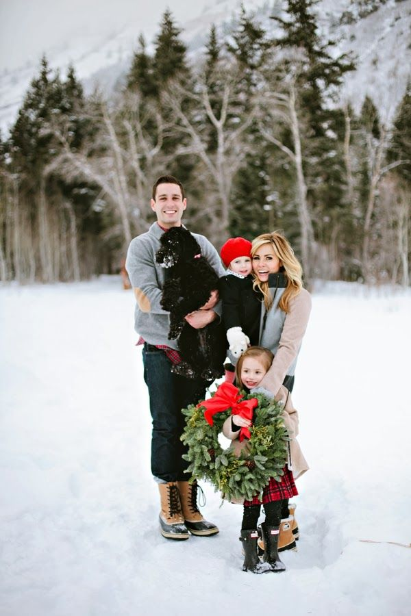 Family Pictures Christmas Time Winter Looks Kiddie