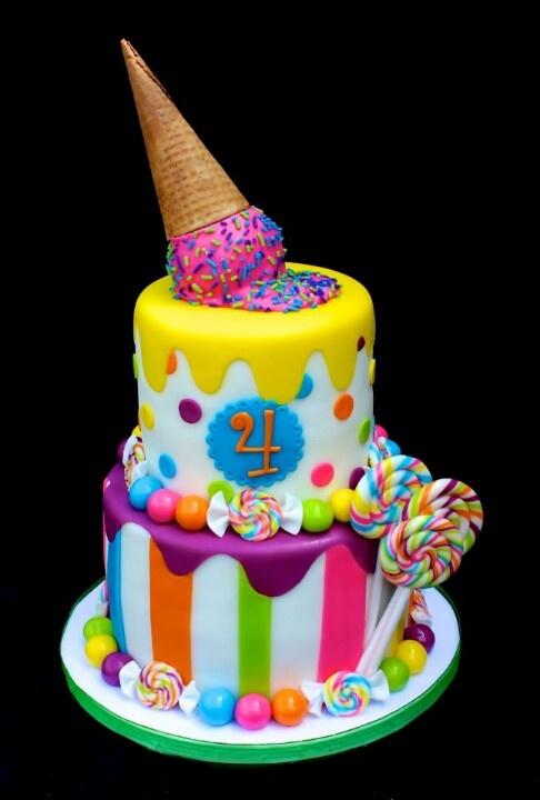 Sweet Shop Candyland Cake Favorite CakesCupcakes