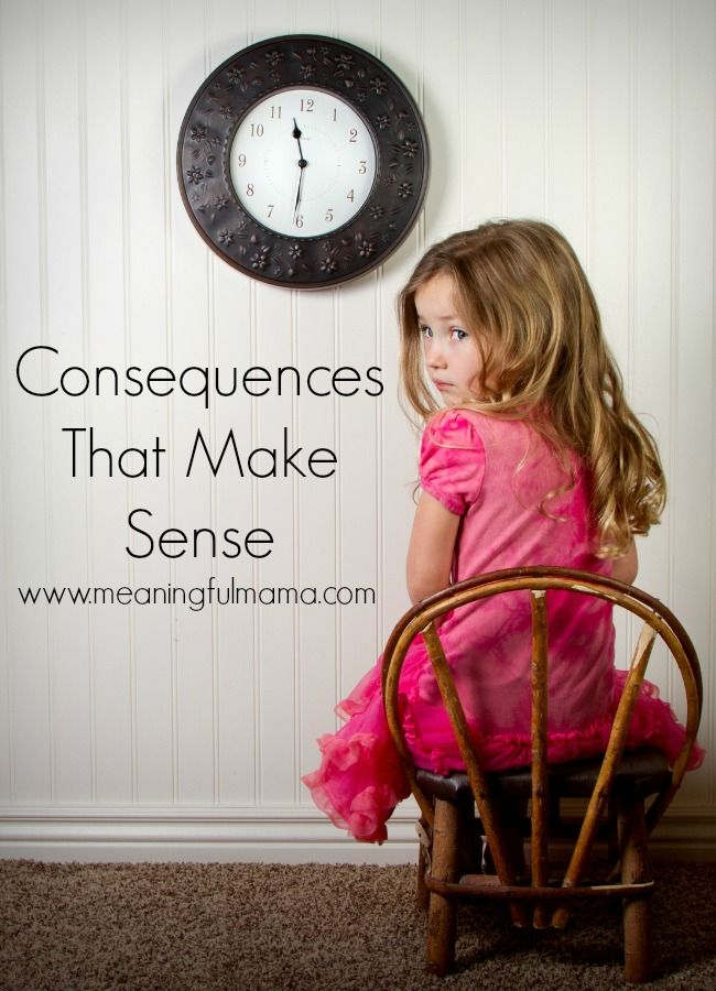 consequences for kids that