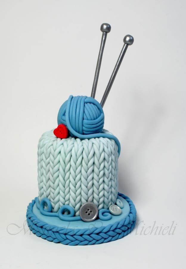 Best 25 Knitting Cake Ideas On Pinterest Fondant