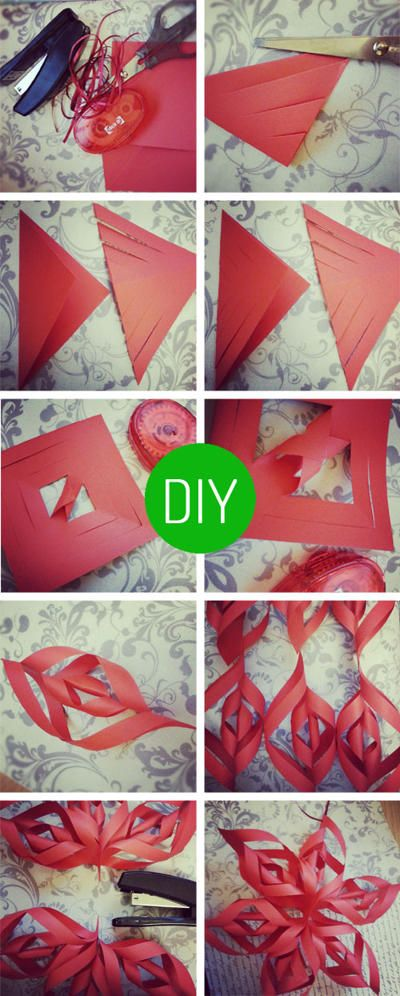 DIY Christmas Decorations  Paper