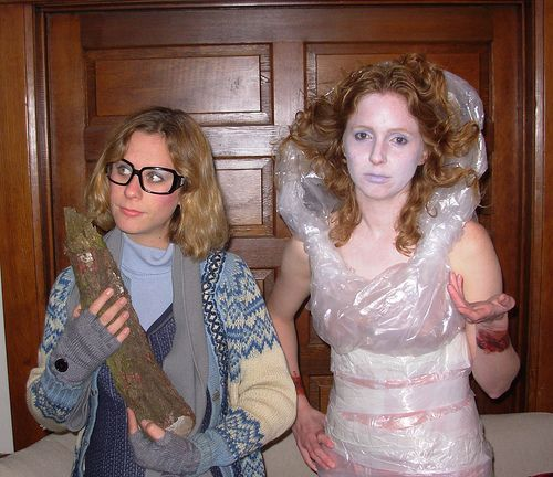The Log Lady And Laura Palmer A Brilliant Twin Peaks