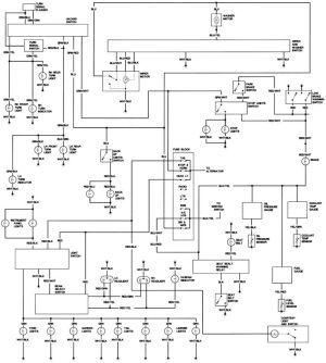 1979 FJ40 Wiring diagram | Toyota Landcruiser FJ40 | Pinterest
