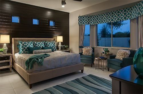 • bed frame only • elegant features • 100% american white oak • no veneers • lacquer finish Teal and grey bedroom idea | For the home.. | Pinterest