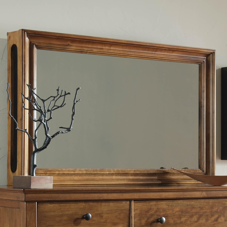 DIY Frame Mirrored Glass Over TV Creates Double Vision