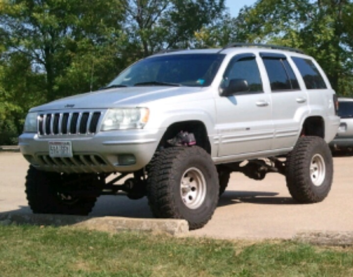 2002 Roof Jeep Cherokee Grand Lights