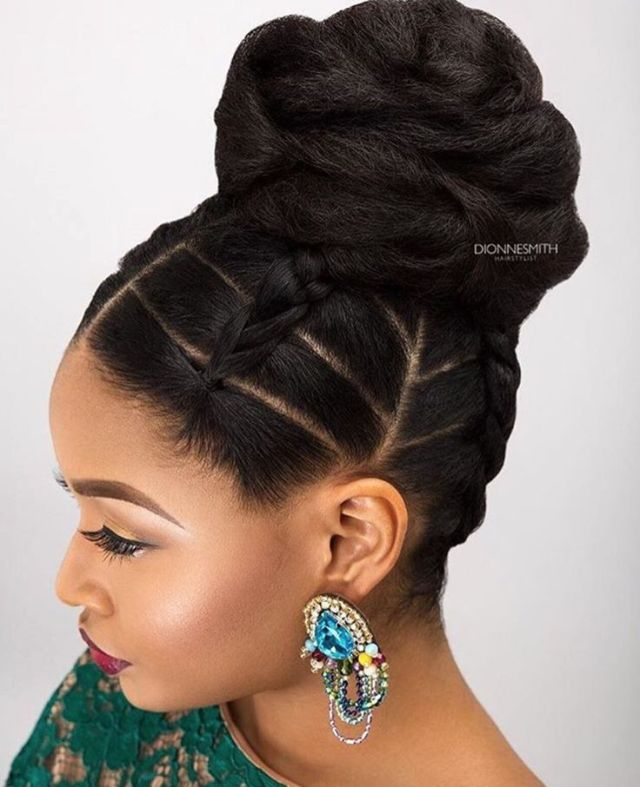 25 best ideas about Cornrows Updo  on Pinterest Corn