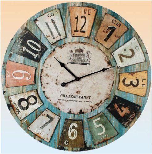 Wall Clocks Zazzle Co Uk