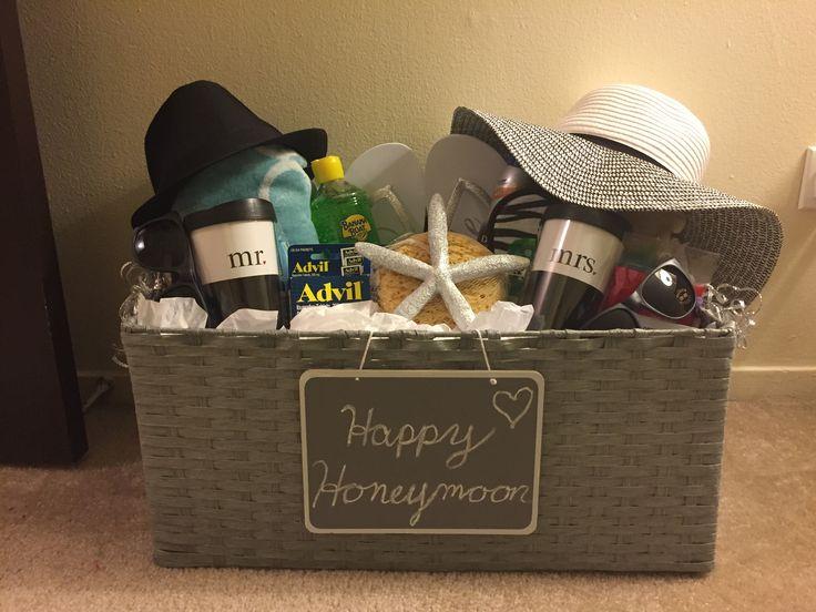 17 Best Ideas About Honeymoon Basket On Pinterest