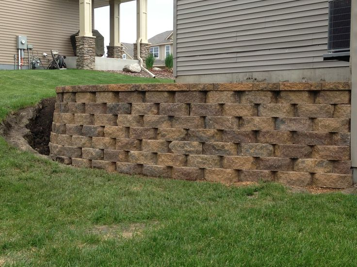 turn a steep slope into a beautiful retaining wall would on wall blocks id=91046
