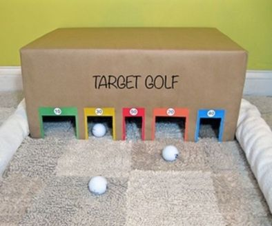 target golf what a great indoor activity for kids!: